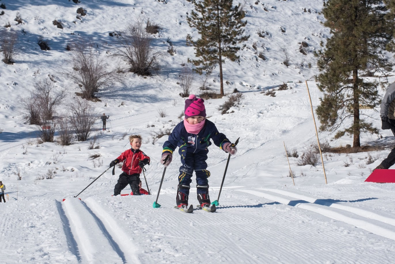 cross counry skiing family friendly fun