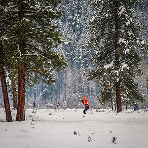 nordic cross country skiing in winthrop washington methow trails