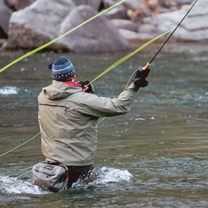 go flyfishing in winthrop Washington