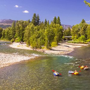 go river rafting in winthrop washington