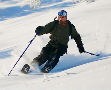 Ski in Winthrop Washington