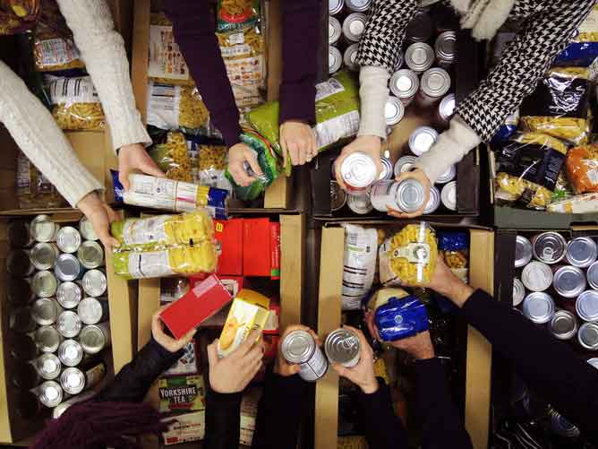 Food bank Coldwell Banker Realty