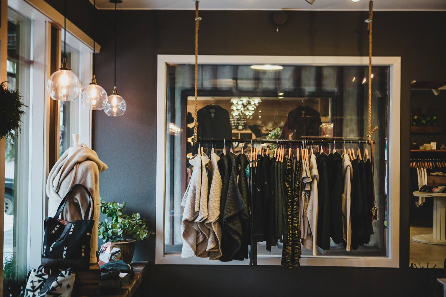 gathered boutique in winthrop washington shopping