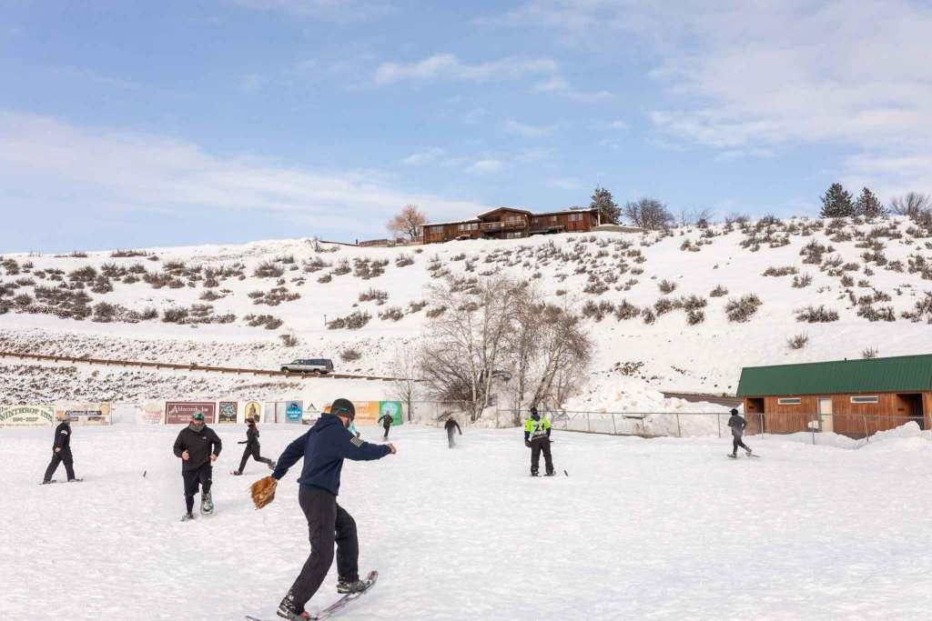 Snowshoe Softball winthrop wa co-ed tournament