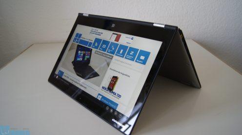Lenovo Yoga 2 Pro Zelt 2