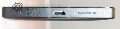 Lumia 930 USB Port und graviertes CE Zeichen