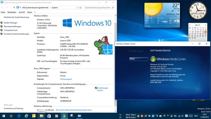 Windows Media Center Windows 10 Windows Media Center