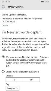 Windows 10 Mobile build 10586.29