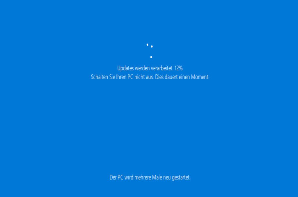 Windows 10 Installation - Typical Blue Screen