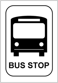 Bus Stop Sign Template Excel Templates Free Download