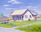 """Old Post Office in Old Twn Cordelia"" by Daphne Wynne Nixon"
