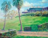 """""""Bromley"""", 16"""" x 20"""", oil by Daphne Wynne Nixon"""