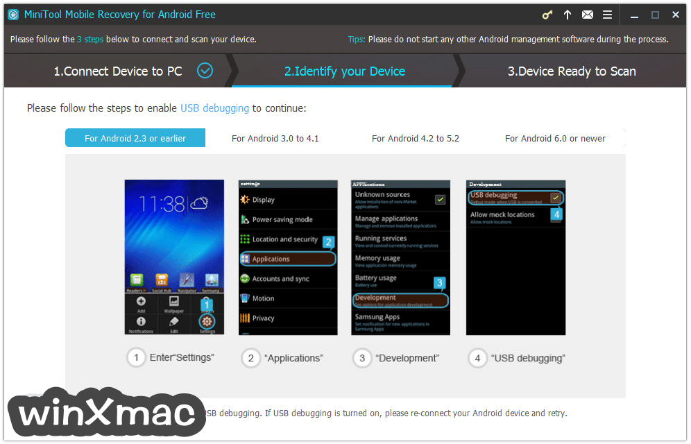 MiniTool Mobile Recovery for Android Free 1.0 for Windows 軟體資訊交流 - winXmac軟體社群