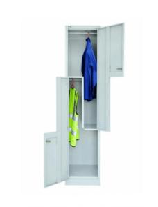 TWO Tier step locker
