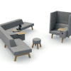 Hybrid modular Soft Seating(4)