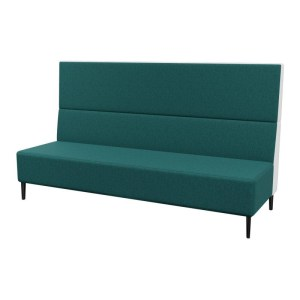 Haven Tall No Arms 3Seater Metal Feet 800×800