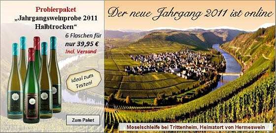 Jahrgangsweinprobe 2011 - Versandkostenfrei bestellen