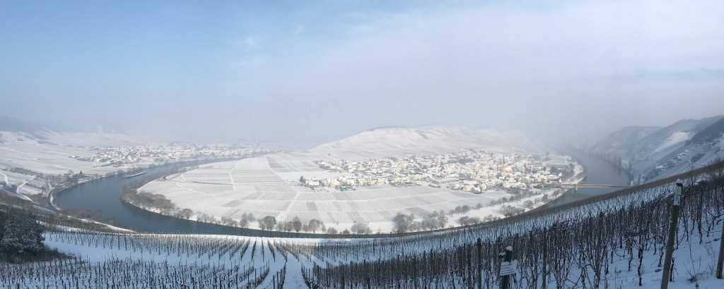 Winter an der Mosel