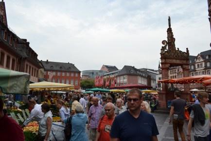 Ein Bick über den Marktplatz
