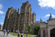 Die Kathedrale mit seinen typisch englischen abgeschnitteten Kirchtürmen.