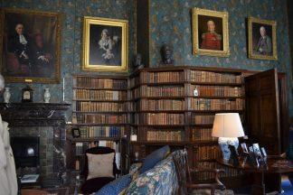 Die Library im Dunster Castle