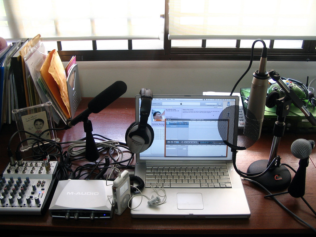 <span class='p-name'>Getting Started with Podcasts: Recording your podcast</span>