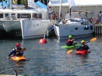 … i jakie kolorowe łódki.