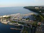A to wszystko odbywało się tam na dole podczas targów WIATR I WODA na wodzie w Gdyni w dniach 2-5 sierpnia.
