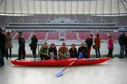Ekipa WIOSŁA na Stadionie Narodowym (fot. Kinga Kępa, Tomasz Woźniak)