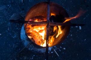 Ogień jest odpowiedni (fot. Katarzyna Ugorowska)