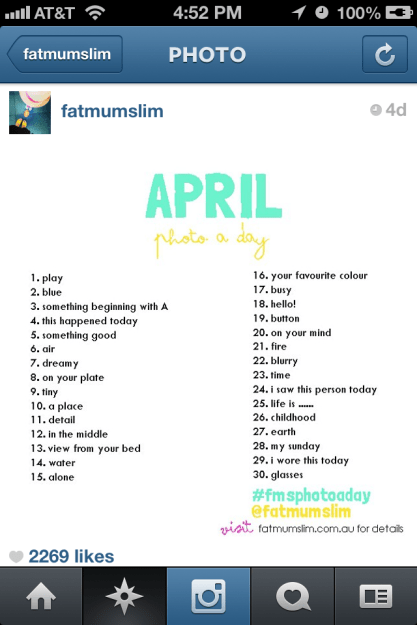 april challenge8