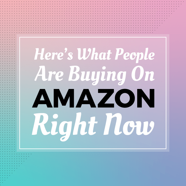 Here's What People Are Buying On Amazon Right Now