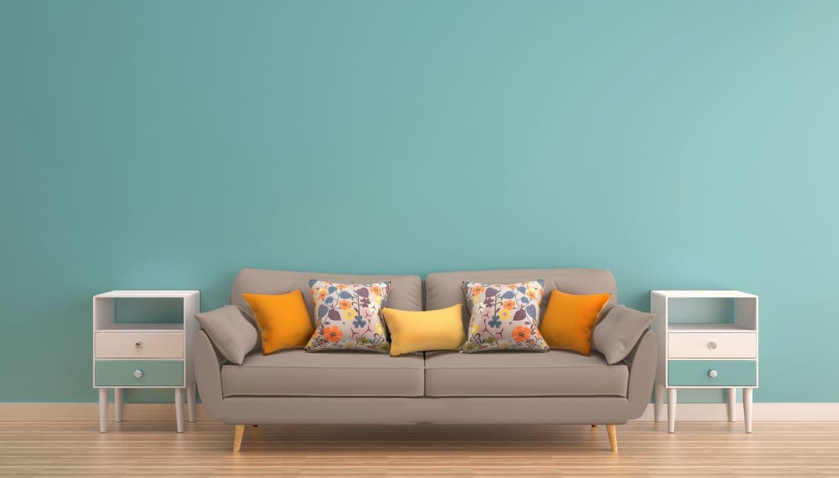 È ideale per creare una parete accento per il soggiorno o la camera da letto. Pareti Color Tortora Abbinamenti Con Mobili E Pavimenti