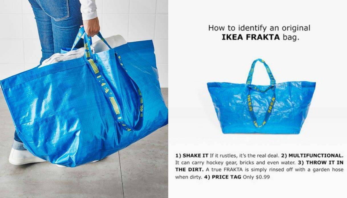 La Risposta Di Ikea Alla Borsa Di Balenciaga Supereva