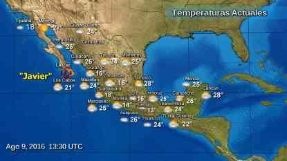 """Tormenta """"Javier"""" se debilita a depresión tropical, sigue la alerta roja en Baja California Sur javier-2-"""