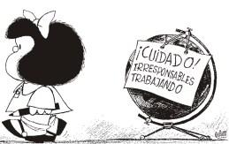 Mafalda cumple 52 años de cuestionar al mundo mafalda1-1
