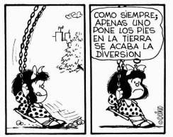 Mafalda cumple 52 años de cuestionar al mundo mafalda2