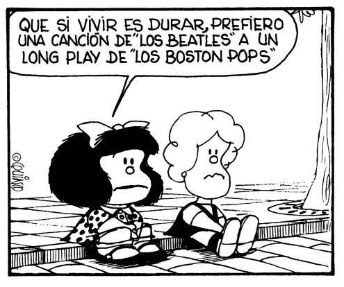 Mafalda cumple 52 años de cuestionar al mundo mafalda6