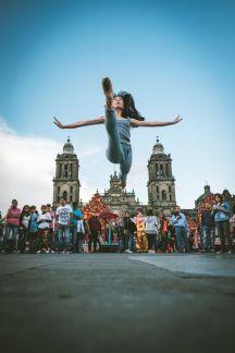 Este fotógrafo captó lo mejor de la CDMX con bailarines de ballet 2-1