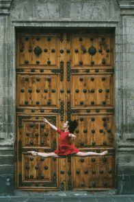 Este fotógrafo captó lo mejor de la CDMX con bailarines de ballet 4-1