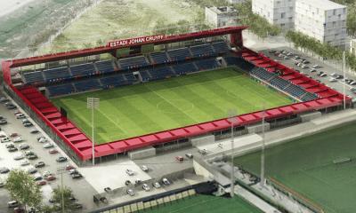 primera piedra del estadio ''Johan Cruyff'',