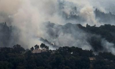 17 los muertos por los incendios en California, incendios en California, fuego en California, California Estados Unidos, Incendios forestales en California, Bomberos combaten incendios, Donald Trump incendios, Trump incendios en California