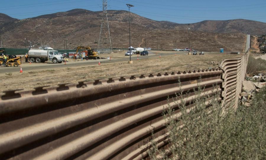 Muro, Donald Trump, Frontera