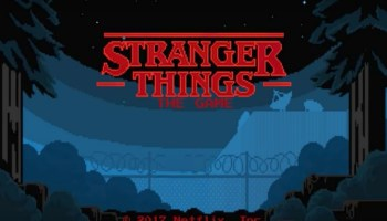 Stranger Things, The Stranger Things: The Game, videojuego de Stranger Things, Segunda temporada de Stranger Things, Netflix