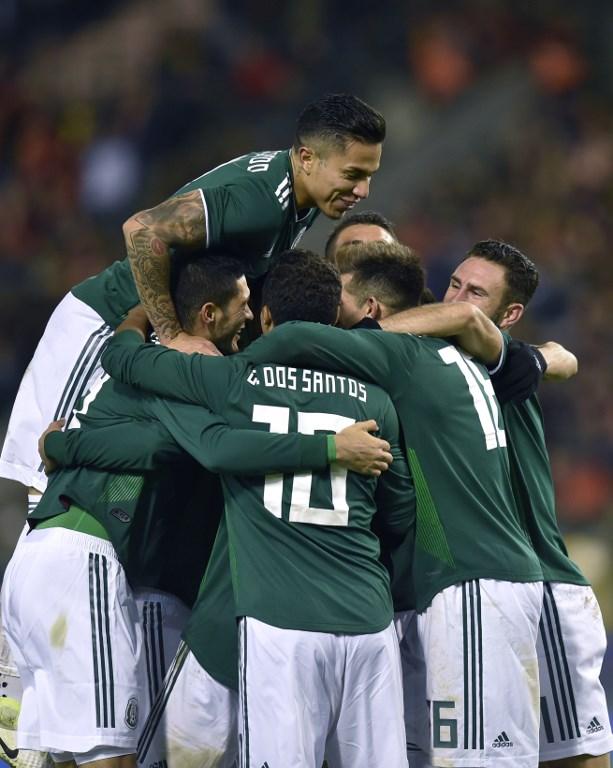 """Hirving """"Chucky"""" Lozano + 10: México empata a 3 en Bélgica 000_U63O8"""