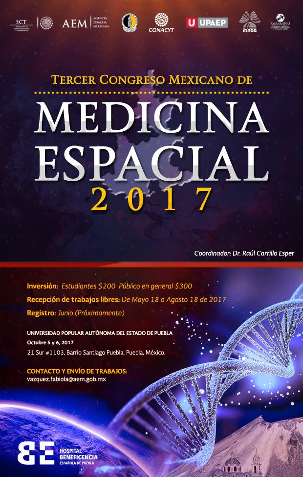Medicina espacial ayudará a solucionar problemas de salud pública 3er-CongMedEsp