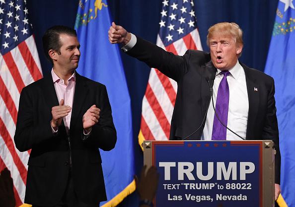 Revelan mensajes entre Trump Jr. y WikiLeaks durante campaña 511957054