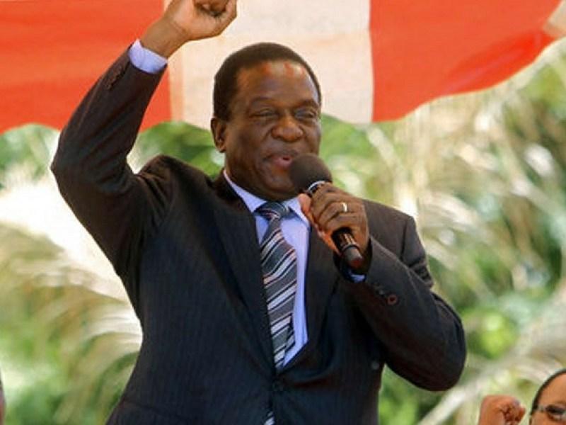 Nuevo presidente de Zimbabue, Zimbabue quiere a Mnangagwa, Robert Mugabe, Emmerson Mnangagwa, golpe de estado en Zimbabue