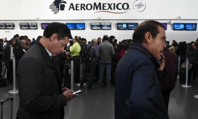 Pilotos de Aeroméxico levantaron el paro de labores, Aeroméxico