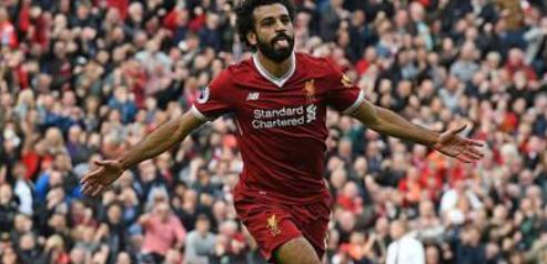 Mohamed Salah jugador de Liverpool